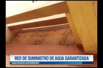 RED DE SUMINISTRO DE AGUA GARANTIZADA