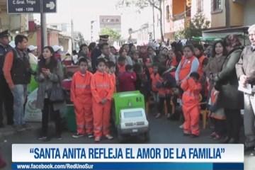 """""""SANTA ANITA REFLEJA EL AMOR DE LA FAMILIA"""""""