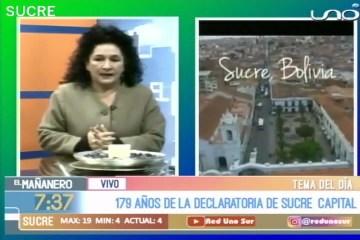 TEMA DEL DÍA: SUCRE CAPITAL DE BOLIVIA