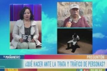EL PREGUNTÓN: LUCHA CONTRA LA TRATA Y TRÁFICO DE PERSONAS