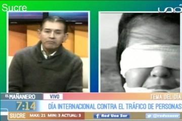 TEMA DEL DÍA: DÍA INTERNACIONAL CONTRA EL TRÁFICO DE PERSONAS