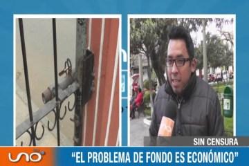 SIN CENSURA: TOMA DEL CAMPUS UNIVERSITARIO DE LA UAJMS