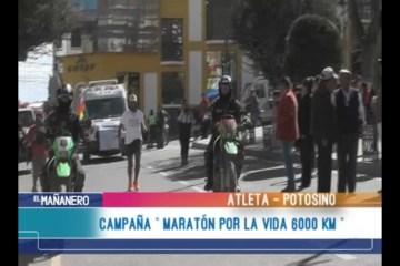 """CAMPAÑA """"MARATÓN POR LA VIDA 6000 KM"""""""