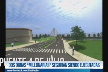 """DOS OBRAS """"MILLONARIAS"""" SEGUIRÁN SIENDO EJECUTADAS"""