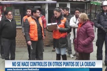 """""""NO SE HACE CONTROLES EN OTROS PUNTOS DE LA CIUDAD"""""""