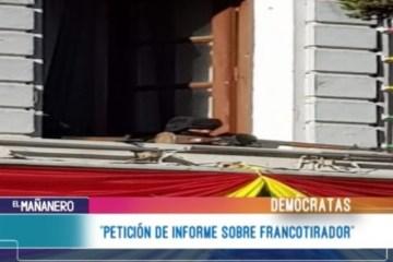 """""""PETICIÓN DE INFORME SOBRE FRANCOTIRADOR"""""""