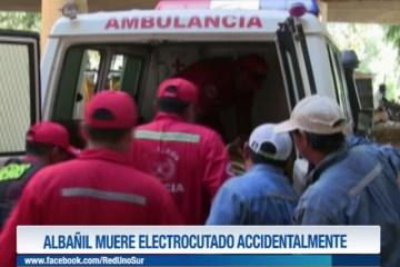 ALBAÑIL MUERE ELECTROCUTADO ACCIDENTALMENTE