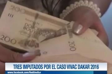 TRES IMPUTADOS POR EL CASO VIVAC DAKAR 2016