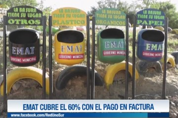 EMAT CUBRE EL 60% CON EL PAGO DE FACTURAS