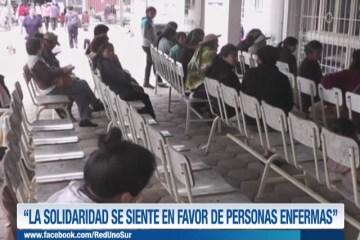"""""""LA SOLIDARIDAD SE SIENTE EN FAVOR DE PERSONAS ENFERMAS"""""""