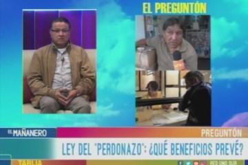 EL PREGUNTÓN: IMPUESTOS Y LEY DEL PERDONAZO