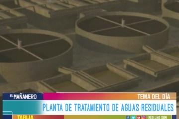 TEMA DEL DÍA: PLANTA DE TRATAMIENTO DE AGUAS RESIDUALES