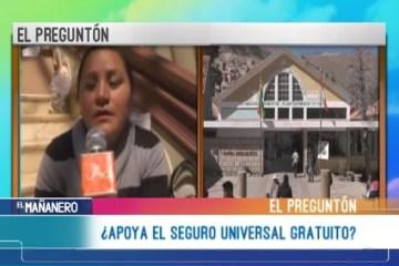 EL PREGUNTÓN: SEGURO UNIVERSAL DE SALUD