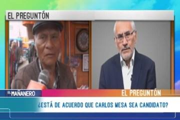 EL PREGUNTÓN: MESA CANDIDATO PRESIDENCIAL