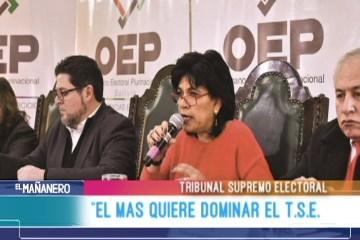 """""""EL MAS QUIERE DOMINAR EL TRIBUNAL SUPREMO ELECTORAL"""""""