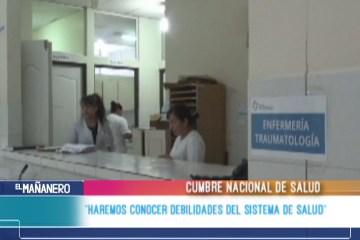 """""""HAREMOS CONOCER DEBILIDADES DEL SISTEMA DE SALUD"""""""