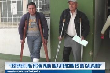 """""""OBTENER UNA FICHA PARA UNA ATENCIÓN ES UN CALVARIO"""""""