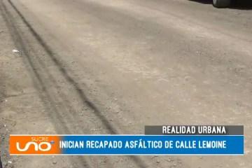 REALIDAD URBANA: CALLE LEMOINE