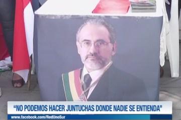 """""""NO PODEMOS HACER JUNTUCHAS DONDE NADIE SE ENTIENDA"""""""