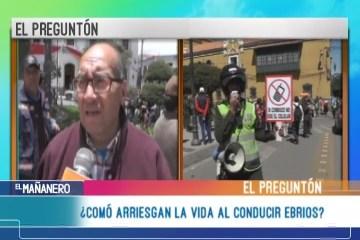 EL PREGUNTÓN: ACCIDENTES DE TRÁNSITO