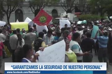 """""""GARANTIZAMOS LA SEGURIDAD DE NUESTRO PERSONAL"""""""