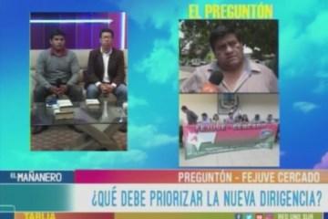 EL PREGUNTÓN: FEJUVE