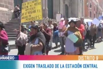 PIDEN TRASLADO DE LA ESTACIÓN CENTRAL POR CONTAMINACIÓN