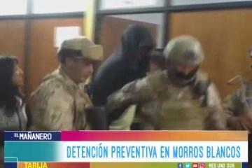 DETENCIÓN PREVENTIVA EN MORROS BLANCOS PARA EX MÍSTER BOLIVIA