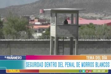 TEMA DEL DÍA: SEGURIDAD DENTRO DEL PENAL DE MOROS BLANCOS
