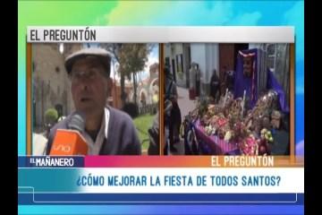 EL PREGUNTÓN: FIESTA DE TODOS SANTOS