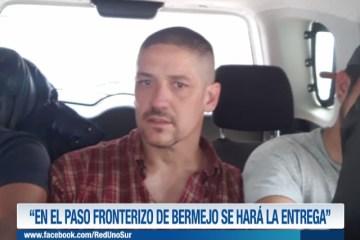 """""""EN EL PASO FRONTERIZO DE BERMEJO SE HARÁ LA ENTREGA"""""""