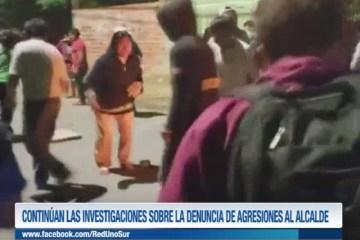 CONTINÚAN LAS INVESTIGACIONES SOBRE LA DENUNCIA DE AGRESIONES AL ALCALDE