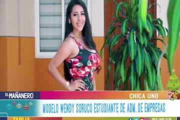 CHICA UNO TARIJA: WENDY SORUCO