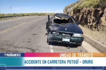 ACCIDENTE EN CARRETERA POTOSÍ – ORURO