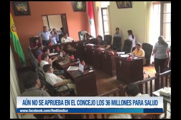 AÚN NO SE APRUEBA EN EL CONCEJO LOS 36 MILLONES PARA SALUD