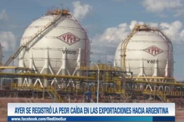 AYER SE REGISTRÓ LA PEOR CAÍDA DE LAS EXPORTACIONES HACIA ARGENTINA