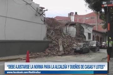 """""""DEBE AJUSTARSE LA NORMA PARA LA ALCALDÍA Y DUEÑOS DE CASAS Y LOTES"""""""