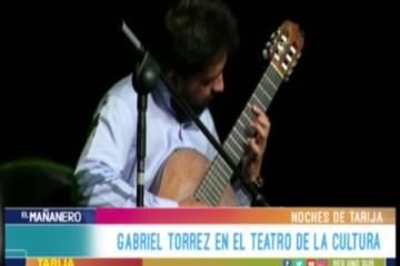 NOCHES DE TARIJA: GABRIEL TORREZ EN EL TEATRO DE LA CULTURA