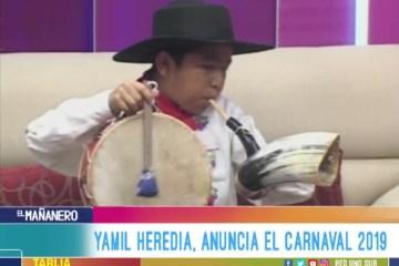 YAMIL HEREDIA, ANUNCIA EL CARNAVAL 2019