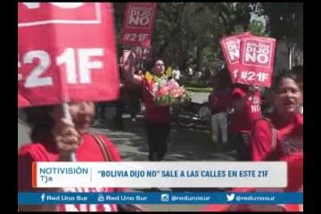 """""""BOLIVIA DIJO NO"""" SALE A LAS CALLES EN ESTE 21-F"""