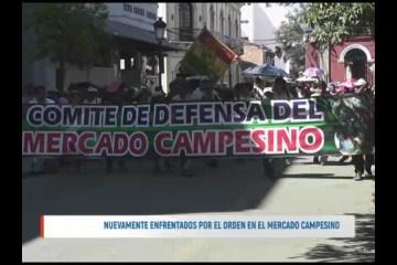 NUEVAMENTE ENFRENTADOS POR EL ORDEN EN EL MERCADO CAMPESINO
