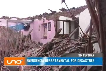 SIN CENSURA: EMERGENCIA DEPARTAMENTAL POR DESASTRES
