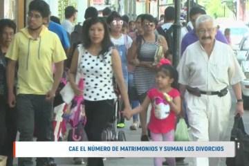 BAJA EL NÚMERO DE MATRIMONIOS Y SUMAN LOS DIVORCIOS
