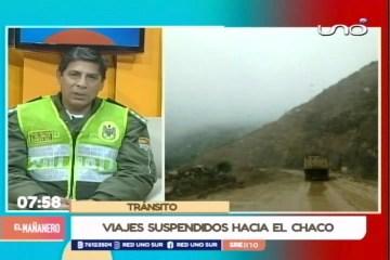 VIAJES SUSPENDIDOS A EL CHACO