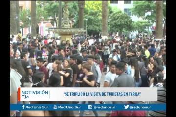"""""""SE TRIPLICÓ LA VISITA DE TURISTAS EN TARIJA"""""""