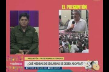 EL PREGUNTÓN: SEGURIDAD EN EL CARNAVAL