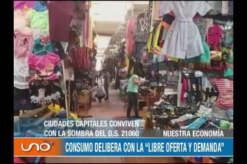"""NUESTRA ECONOMÍA: CONSUMO DELIBERA CON LA """"LIBRE OFERTA Y DEMANDA"""""""