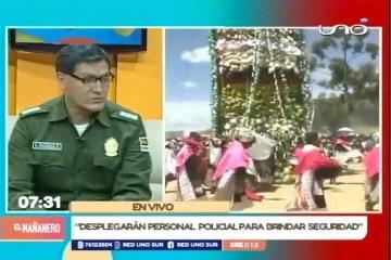 OPERATIVO DE SEGURIDAD PARA EL PUJLLAY