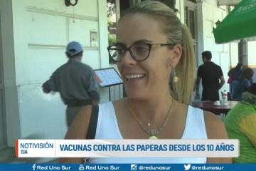 VACUNAS CONTRA LAS PAPERAS DESDE LOS 10 AÑOS