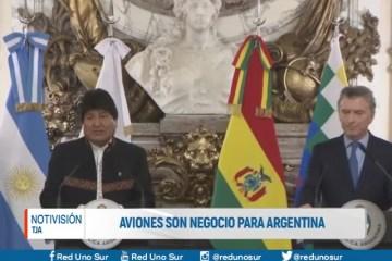 AVIONES SON NEGOCIO PARA ARGENTINA